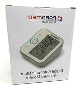 Paramed Digital Blood Pressure/Pulse Monitor Accurate Automa
