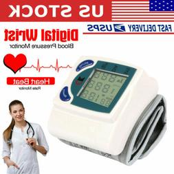 digital wrist blood pressure meter health monitor