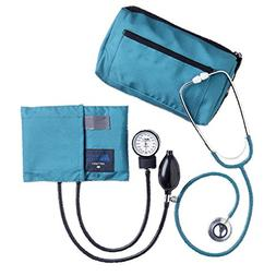 Mabis MatchMates Dual Head Stethoscope Combination Kit, Teal
