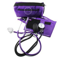 EMI #305 PURPLE Aneroid Sphygmomanometer Blood Pressure Moni