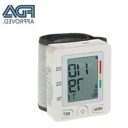 FDA/CE Approved LCD Wrist Blood Pressure Monitor with Cuff P