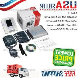 Fully Automatic Blood Pressure Monitor with Adult+Child+Pedi
