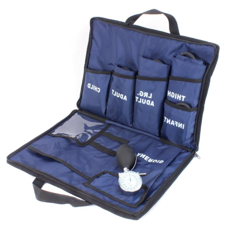 5 cuff blood pressure aneroid kit system
