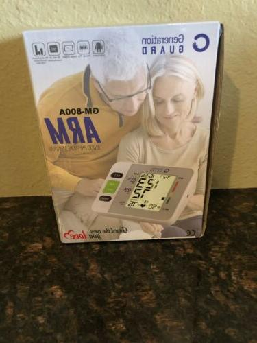 arm blood pressure monitor gm 800a