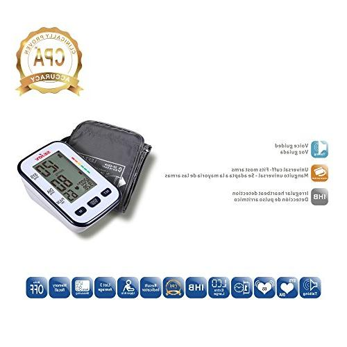 Upper Arm, Extra Large Digital to Use, Universal Batteries Included, BSP-12 Series