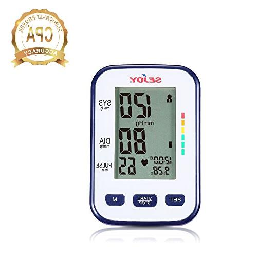 Automatic Blood Monitor, Upper Digital to Use, Standard Included,