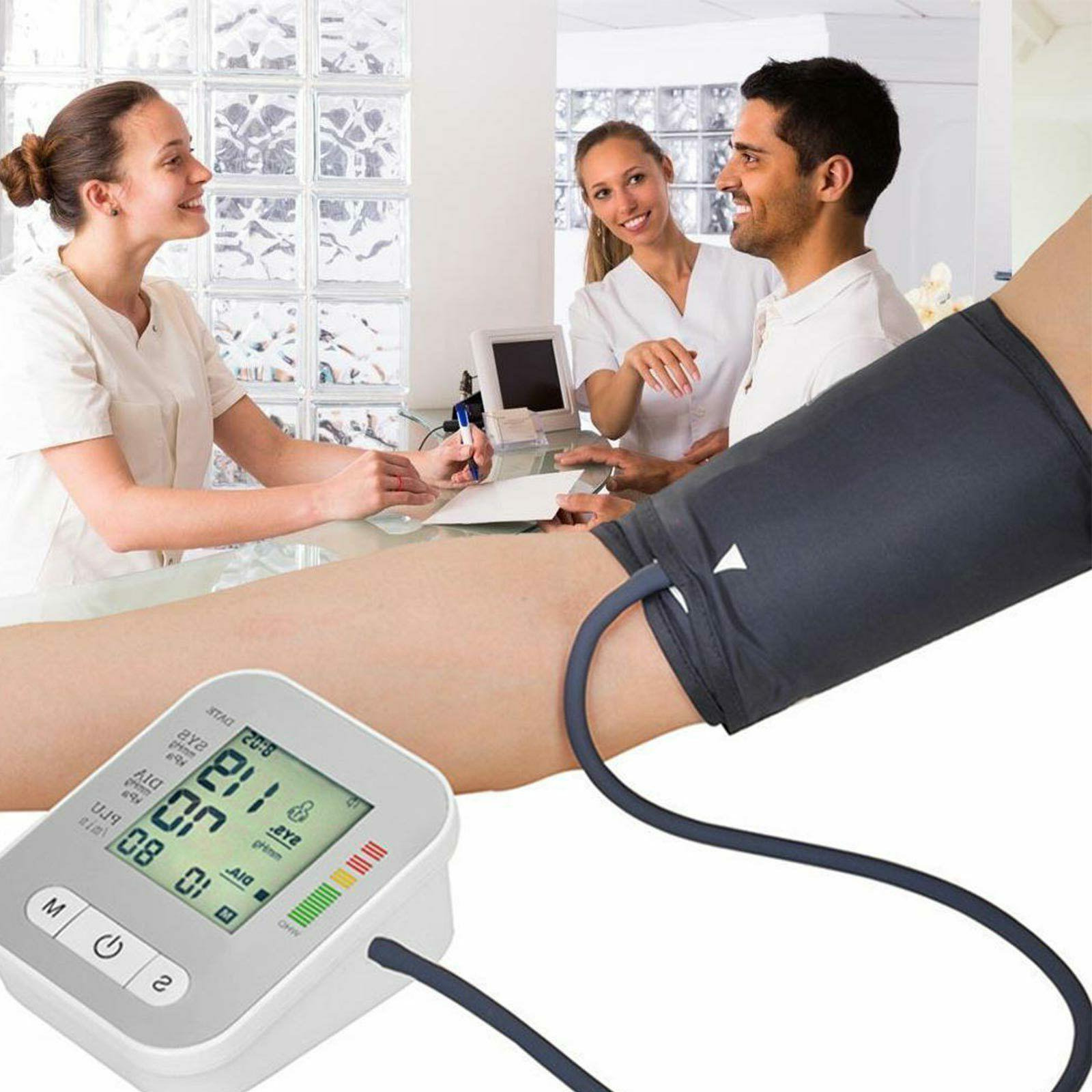 Automatic Blood Upper Arm Digital BP Machine With
