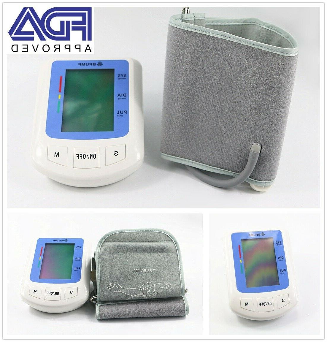 Automatic Digital Arm Blood Pressure Monitor Large BP Cuff G