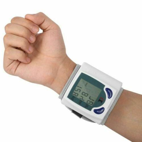 Automatic Wrist Blood Pressure Monitor Machine Home Test