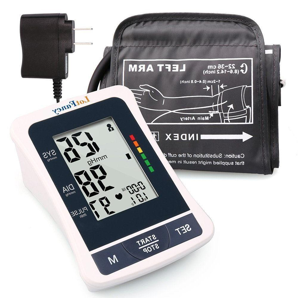 automatic high arm blood pressure monitor bp