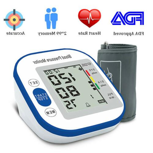Automatic Blood Monitor BP Heart Rate Machine Stock