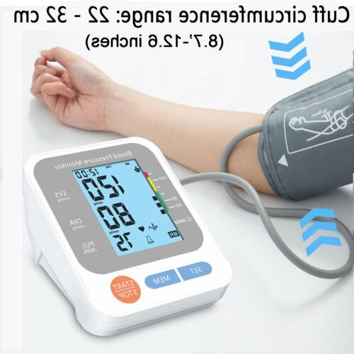Automatic Arm Monitor BP Pulse