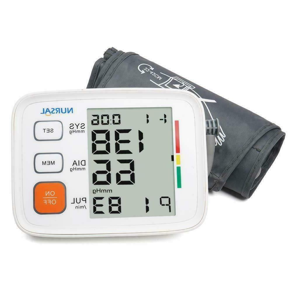 Automatic Upper Arm Blood Pressure Monitor Digital Cuff FDA