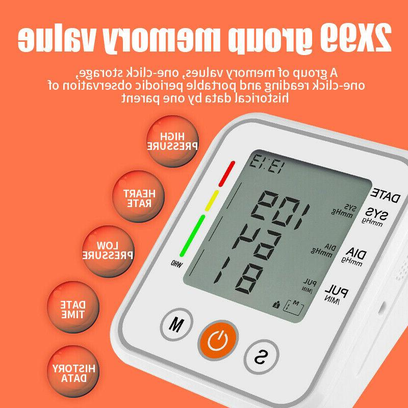 Automatic Voice Arm Pressure Monitor BP