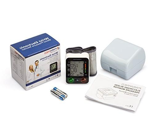 Automatic Wrist Blood of 2AAA Carrying - Irregular Heartbeat Detector & Readings Function & Large Display
