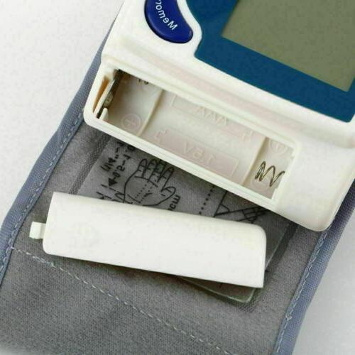Automatic Blood Monitor BP Rate Tester Meter