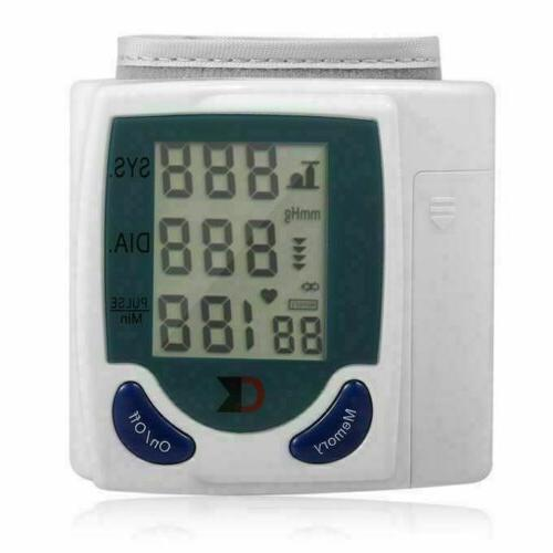 Automatic Wrist Blood Monitor BP Rate