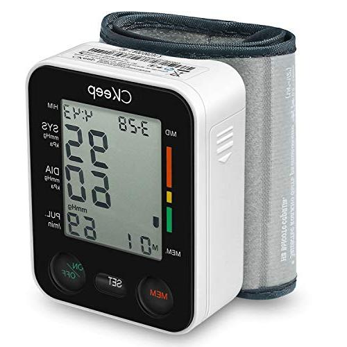 CKeep Blood Pressure Monitor Approved by FDA with Large Display Reading Property,Box Included