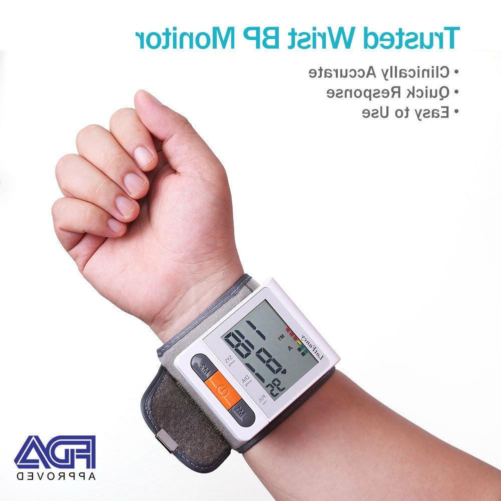 Digital Wrist Cuff Blood BP Machion