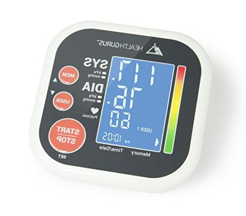 Blood Pressure Pressure Cuff Digital BP Meter With Large Display, with Tubing Bag
