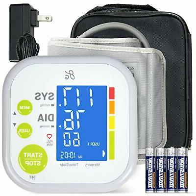 Blood Pressure Monitor Pressure Cuff by Digital Upper Arm Cuff, BP Display, Kit also with Tubing Device Bag