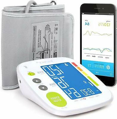 balance bluetooth blood pressure monitor with upper
