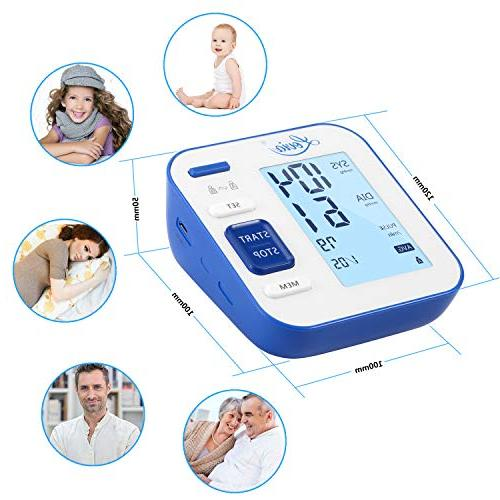 Automatic Digital BP Pressure and Pulse Rate for * Large Display, Certified