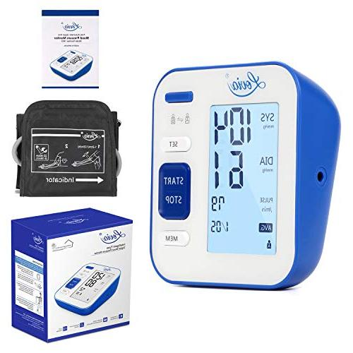 Blood Pressure Monitor, Automatic BP Pressure and Pulse for * Large Certified