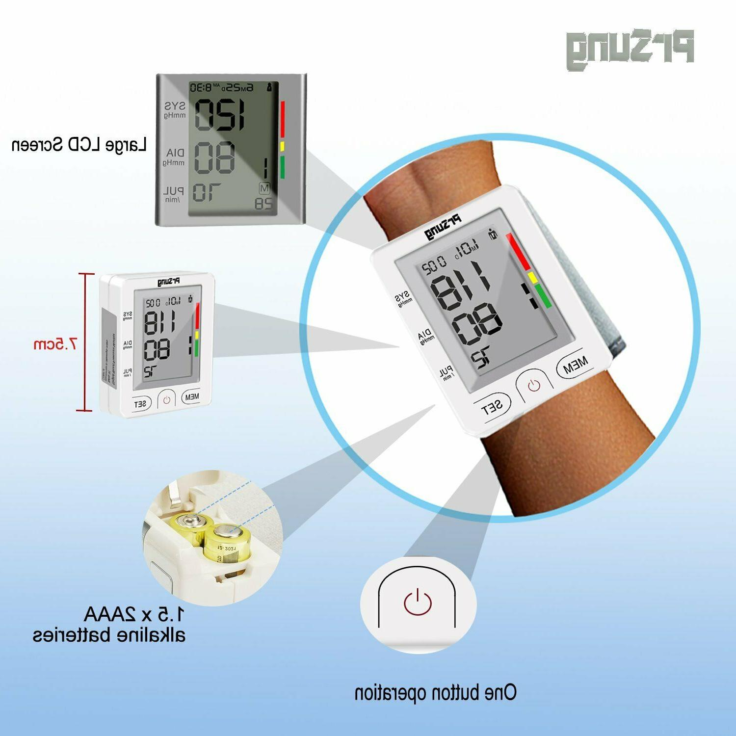Blood Pressure Monitor BP Heart Pulse Meter Machine Arm