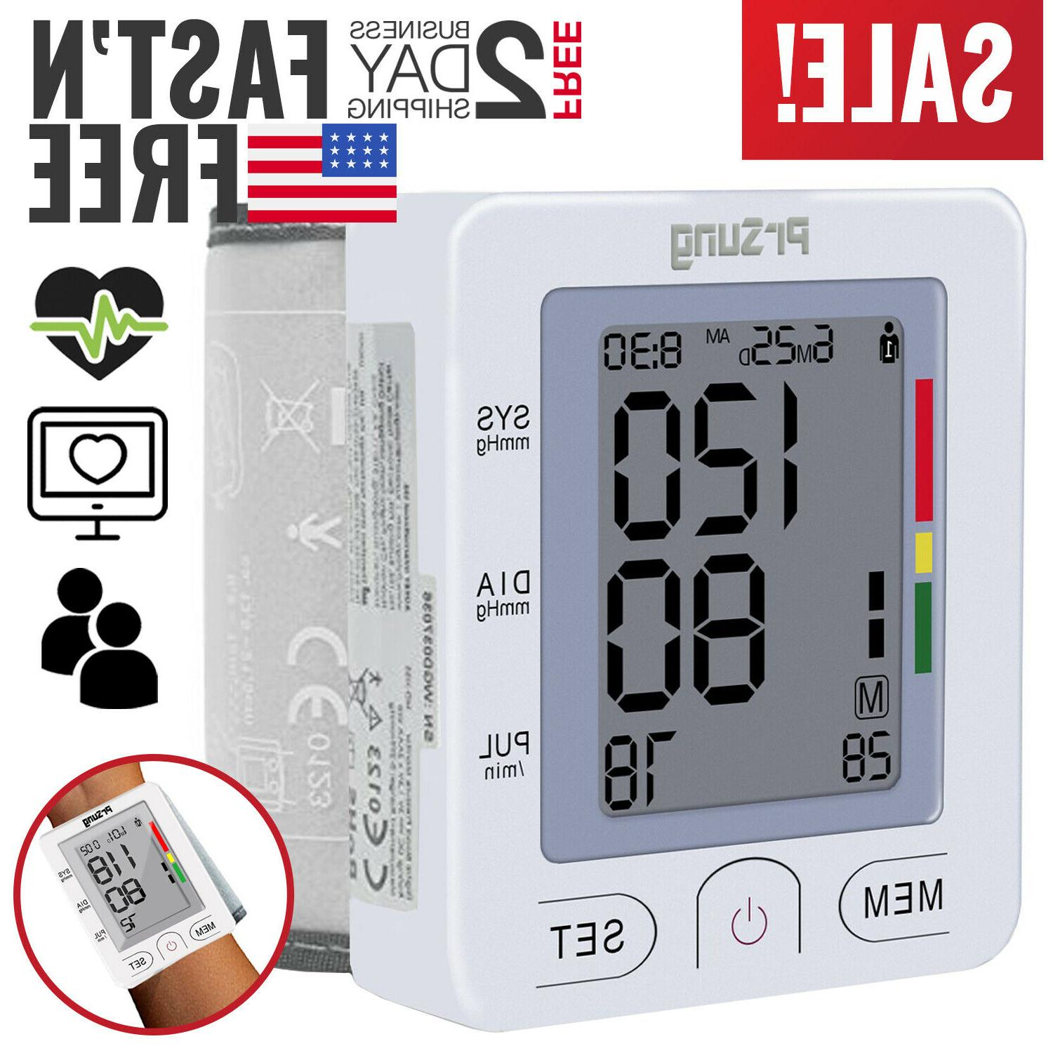 blood pressure monitor bp heart rate checker