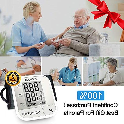 Blood Pressure Clinically Reading, Automatic BP Monitor with Display Buttons, Range One Operation