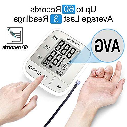 Clinically Accurate & Reading, Automatic Upper Digital BP Monitor Display & Range One Operation for