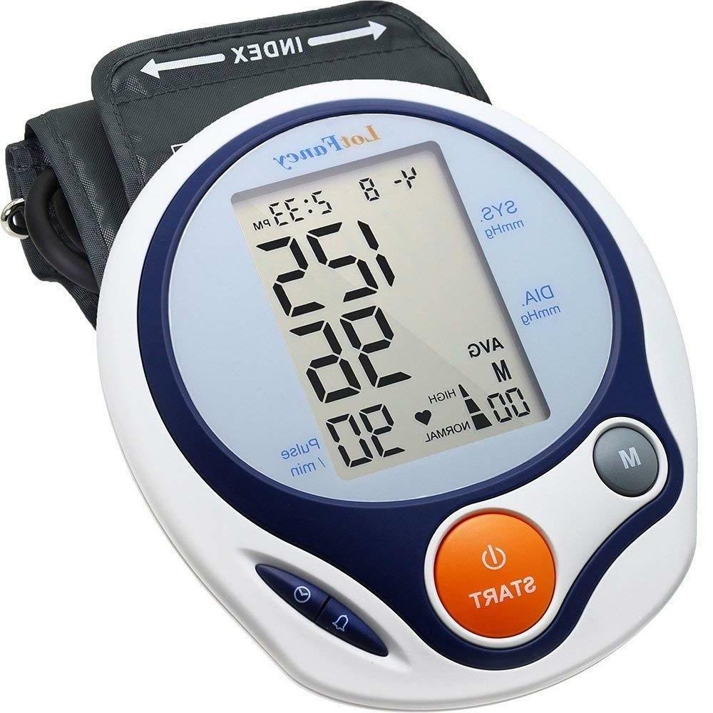 High Blood Pressure Monitor BP Large Cuff Machine For Adult