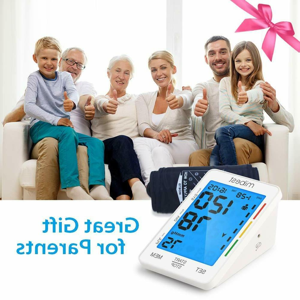 MIBEST Blood Pressure - LED Display Blood Tester