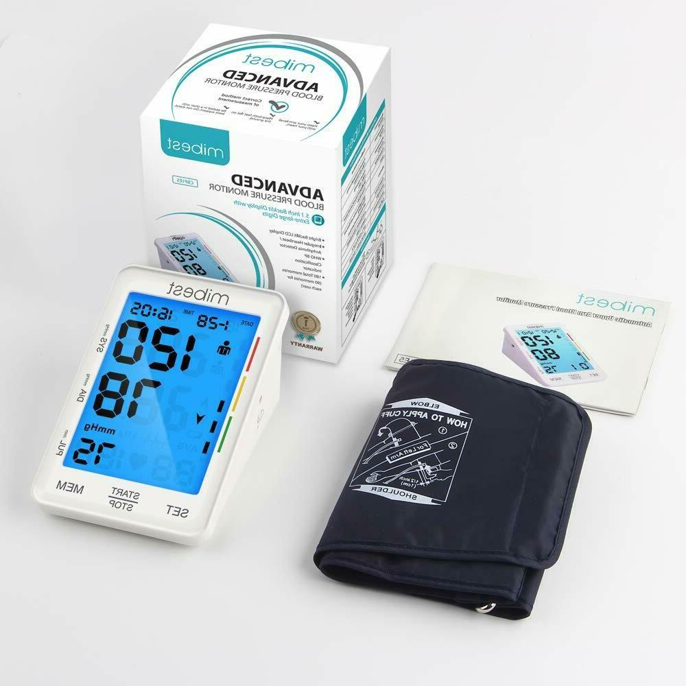 MIBEST Pressure Monitor - LED Blood