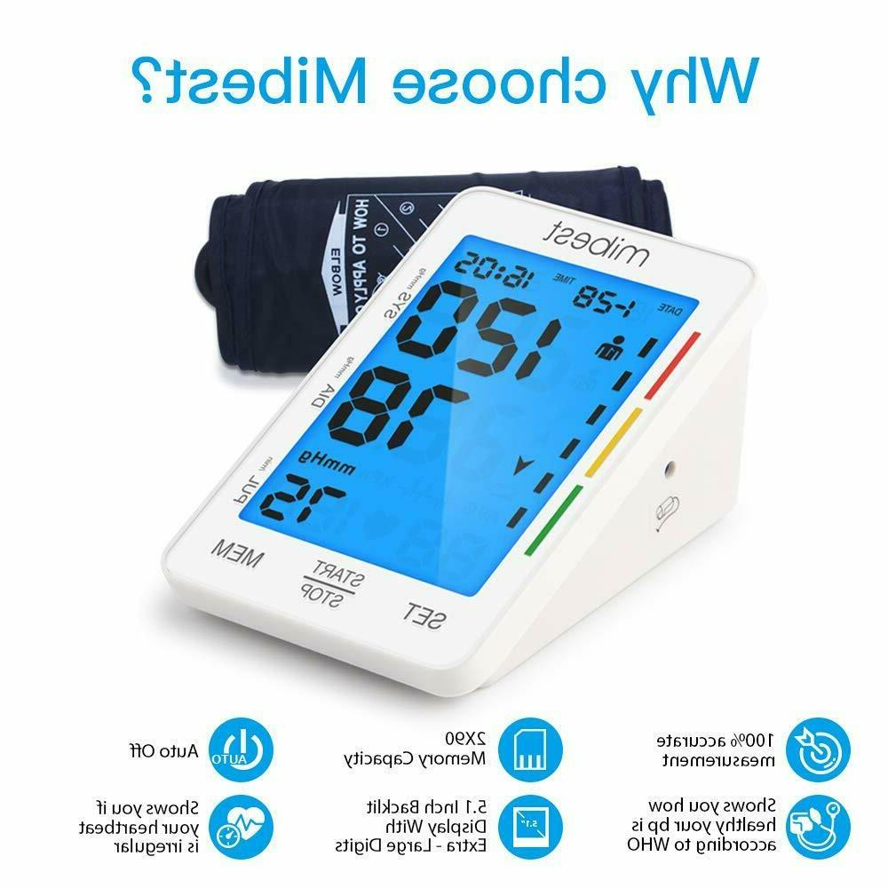 MIBEST - Large LED Blood Tester