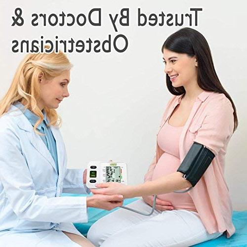 Arm Blood Pressure Large Cuff BP for Adult, Pregnancy - Pressure Kit for - Included