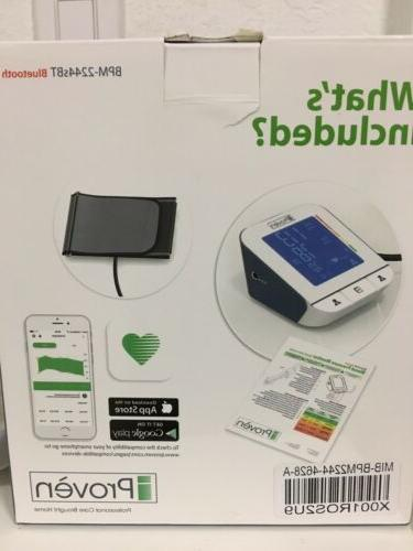 iProven Blood Pressure Monitor with - App