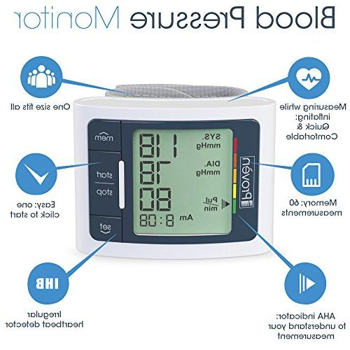 Blood Monitor Wrist - Clinically Fast Reading Approved - BPM-337 Iprovèn