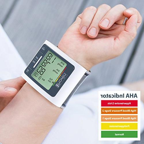 Blood Pressure Wrist - - Accurate Fast - Approved BPM-337 Iprovèn
