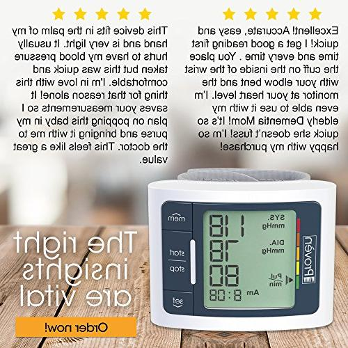 Blood Monitor - Display - Clinically Accurate Fast Reading Approved - Iprovèn