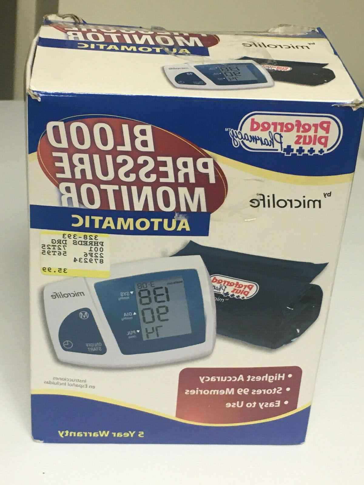 bp3na1 deluxe automatic blood pressure