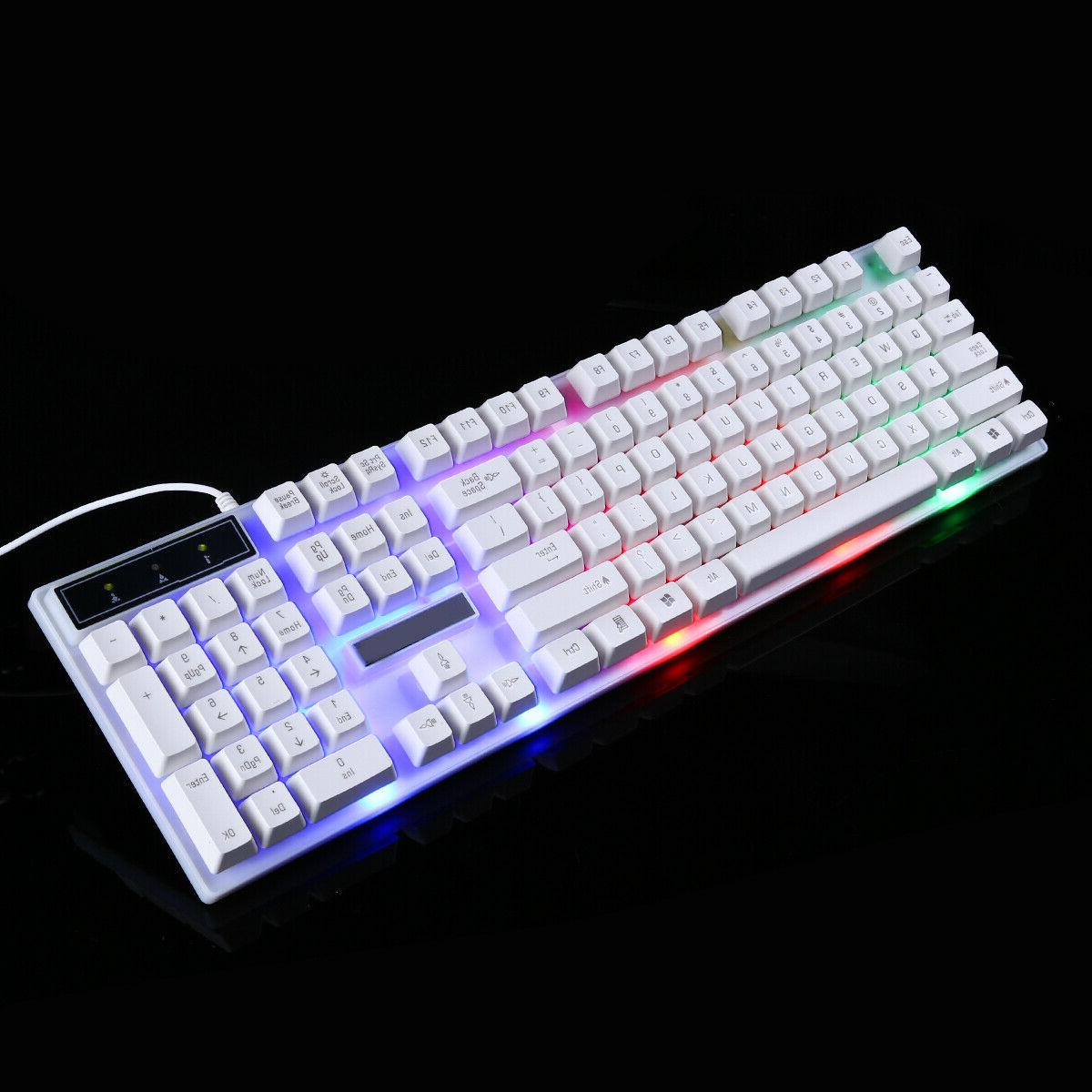 Computer Gaming RGB And Mouse Colorful
