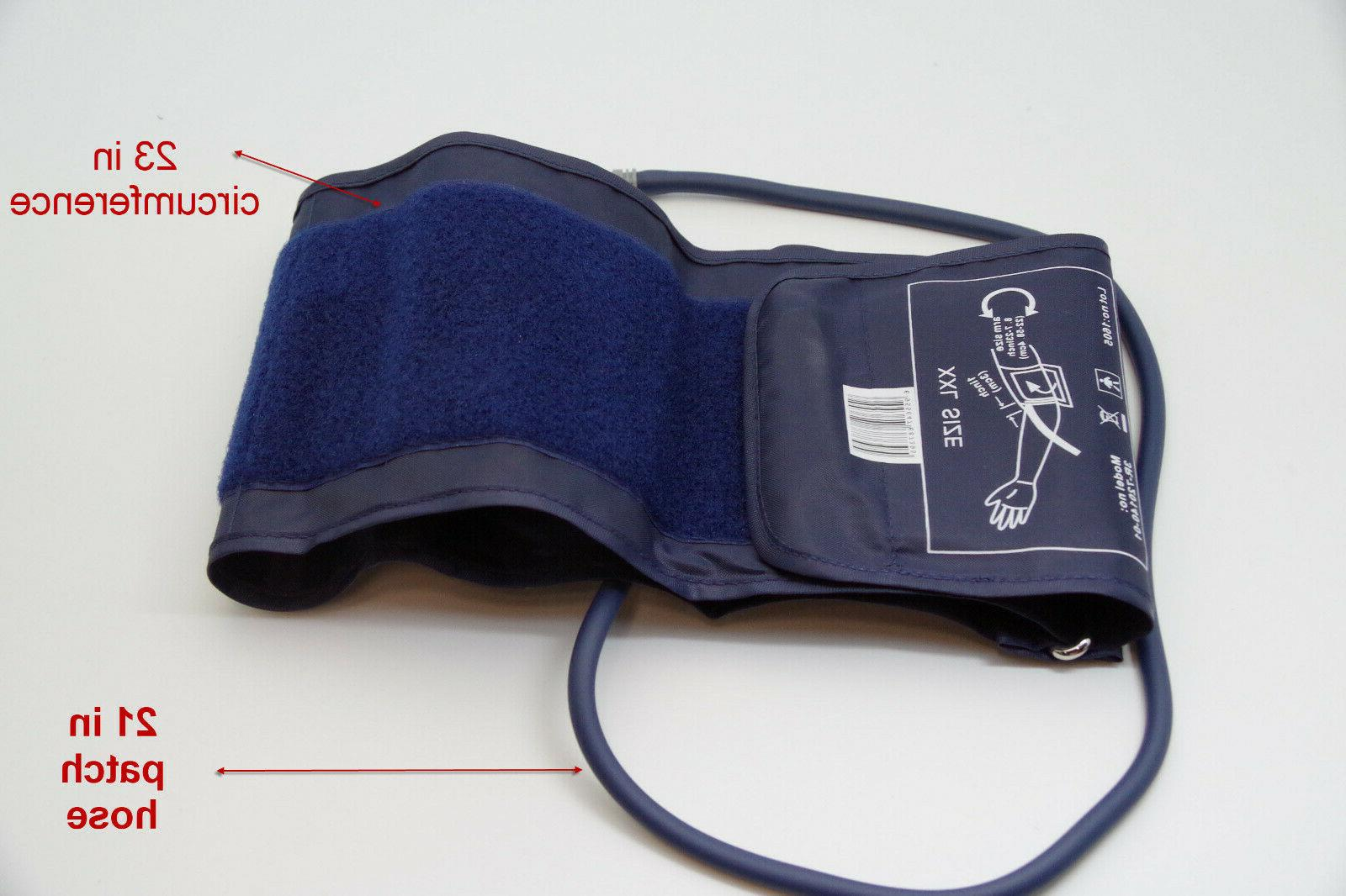 Cuff for digital blood pressure monitor extra large size  8.