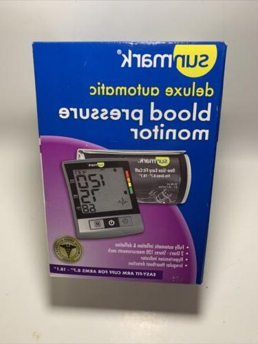 Sunmark Deluxe Automatic Blood Pressure Monitor - Each