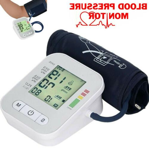 digital automatic blood pressure monitor upper arm