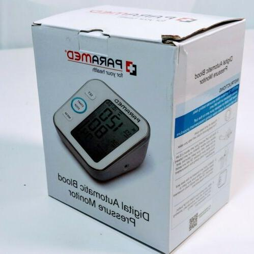 digital blood pressure pulse monitor accurate automatic