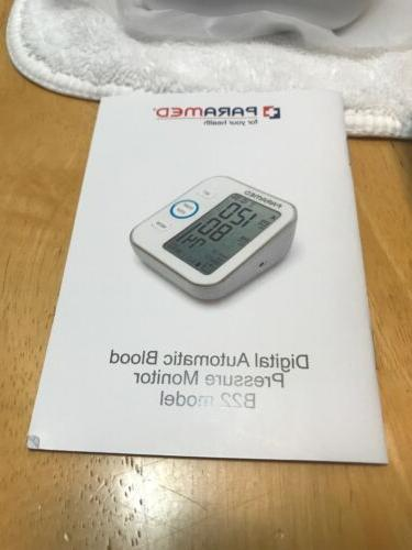PARAMED Digital Monitor Automatic Cuff-New