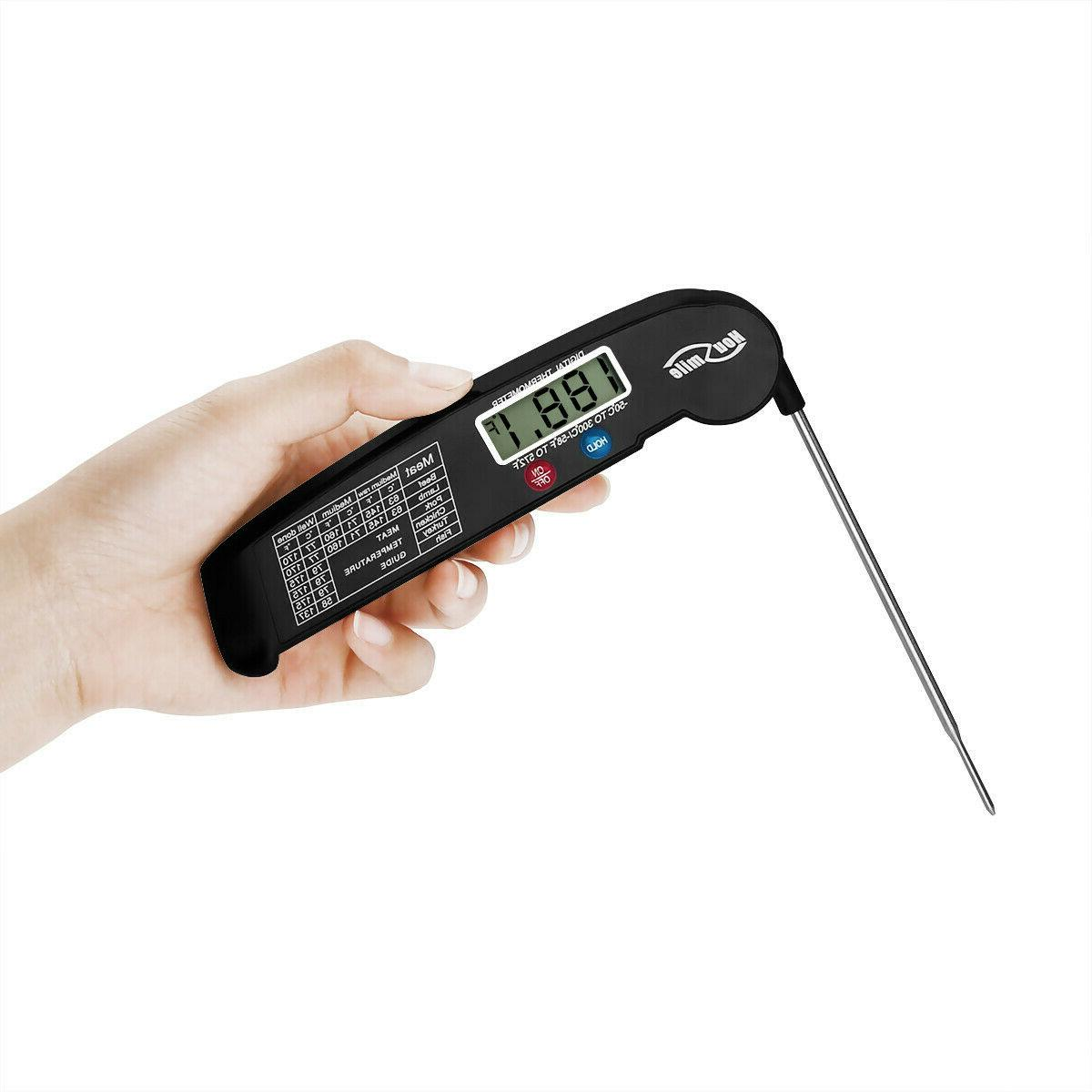 Meat Probe Digital Grill Read Food Cooking Grill