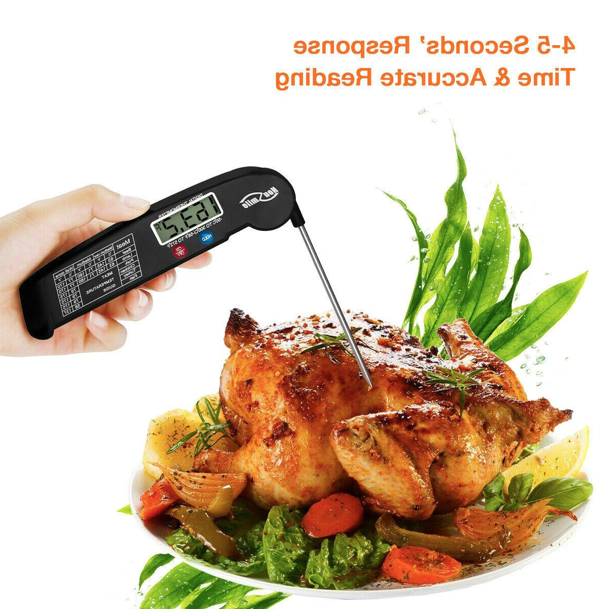 Meat Thermometer Digital Grill Food Cooking